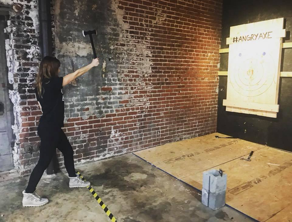 Tulsa Axe Throwing
